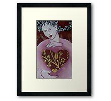 Love Girl Framed Print