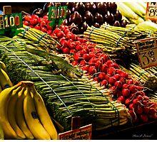Market Iguana Photographic Print