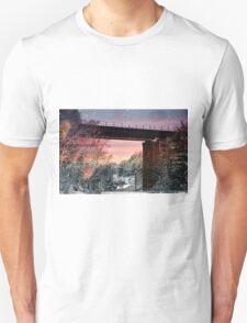 Northern Train Bridge Unisex T-Shirt