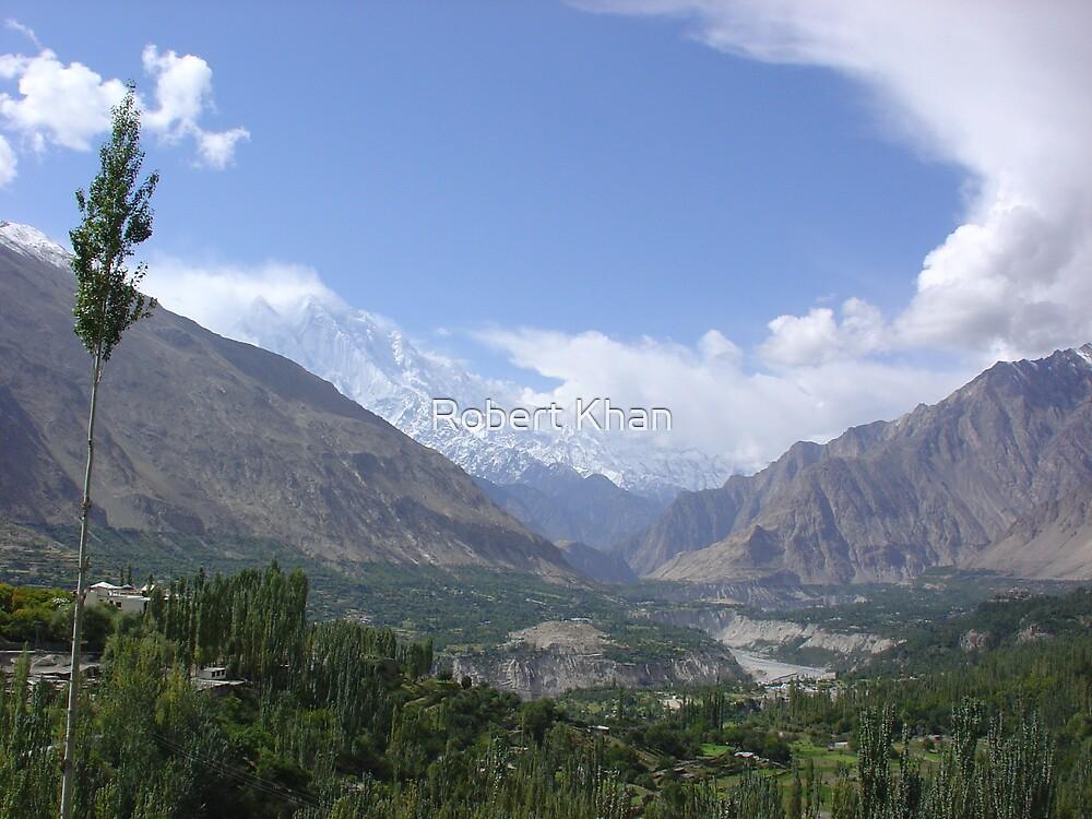 Hunza Vallie by Robert Khan