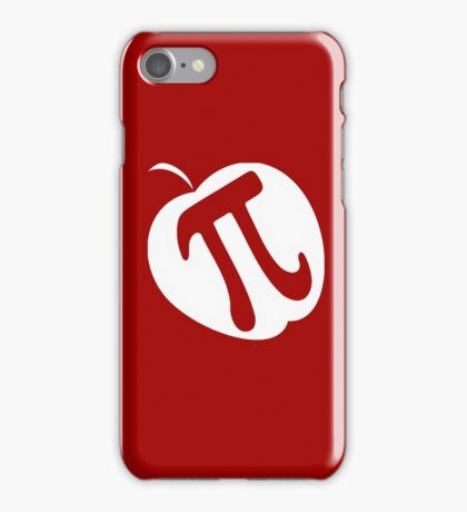 Apple Pi | Funny Pi Day 2017 iPhone Case/Skin