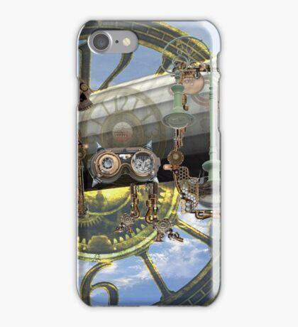 Steampunk Zeppelin 1 iPhone Case/Skin