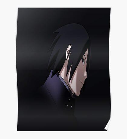 Sasuke Uchiha - Uchiwa Poster