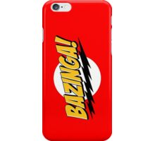 Big Bang Theory Bazinga iPhone Case/Skin