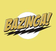 Big Bang Theory Bazinga Kids Clothes