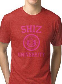 "Shiz University - Wicked ""Popular"" Version Tri-blend T-Shirt"
