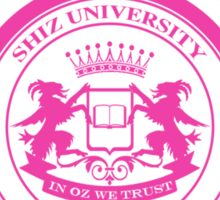 "Shiz University - Wicked ""Popular"" Version Sticker"