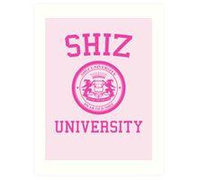 "Shiz University - Wicked ""Popular"" Version Art Print"