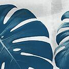 Blue Monstera #5 by ALICIABOCK