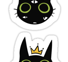 Ouija Cat Sticker