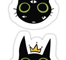 Ouija Cat Sticker