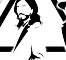 Thirty seconds to Mars fan made Sticker