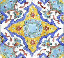 Talavera Tile 114 by James J. Barnett