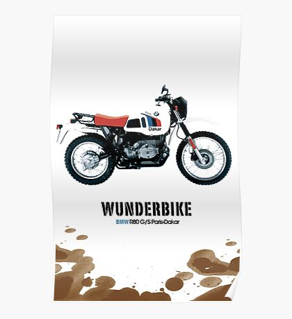 B M W R80GS Poster
