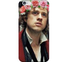 Enjolras with a Flower Crown iPhone Case/Skin