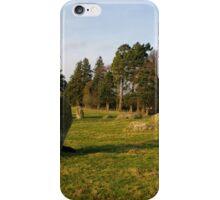 Long Meg Stone Circle iPhone Case/Skin