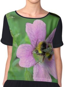 What a buzzy day Chiffon Top