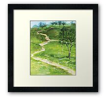 Paths Framed Print