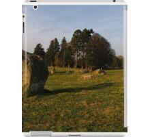 Long Meg Stone Circle iPad Case/Skin