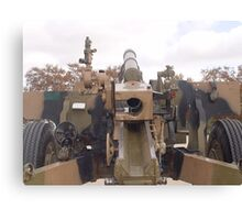 photoj South Australia, Army Canon Canvas Print