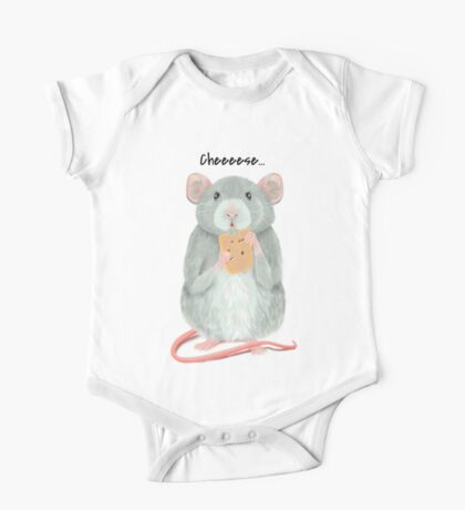 Little Mouse One Piece - Short Sleeve