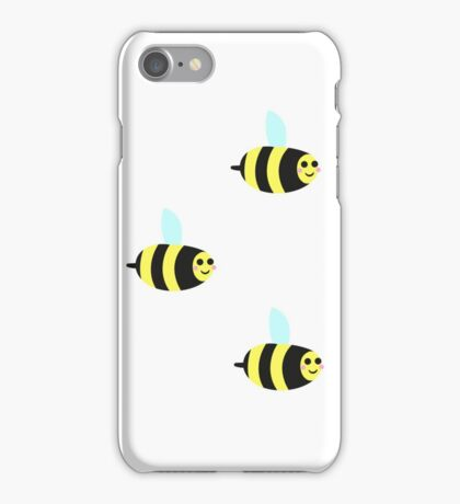 HAPPY BEES! iPhone Case/Skin