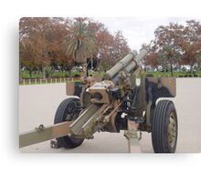 photoj South Australia Army Canon Canvas Print