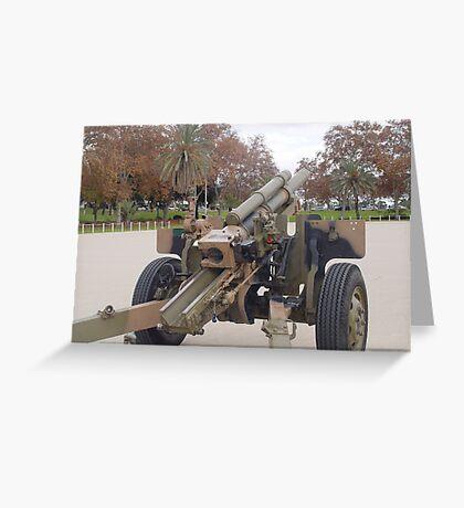 photoj South Australia Army Canon Greeting Card