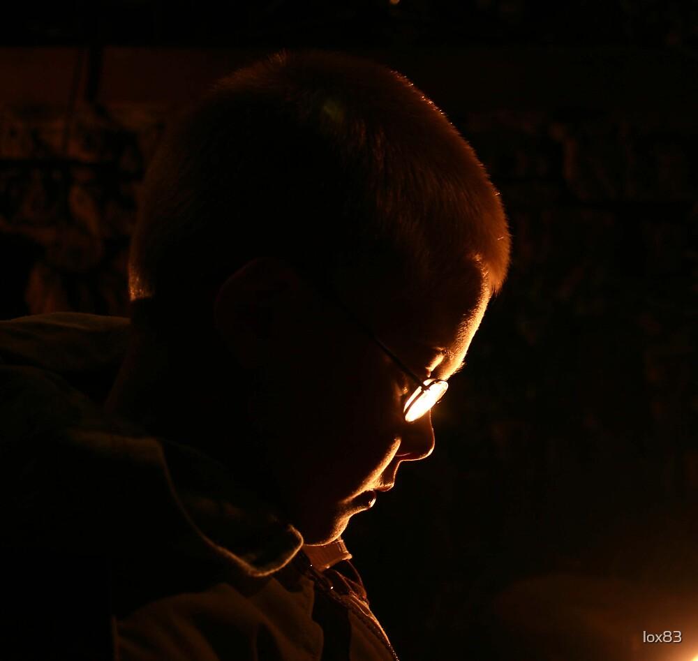 fireside gaze by lox83