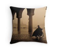 Waiting For The Rain To Stop Throw Pillow