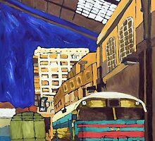 City 17 Depot by James J. Barnett