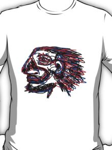 An abstract profile T-Shirt
