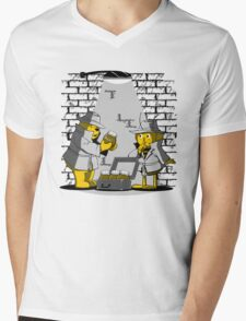 HONEY TRAFFIC Mens V-Neck T-Shirt