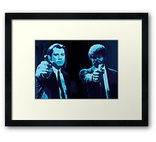 Vincent and Jules - Pulp Fiction (Variant 2 of 2) Framed Print
