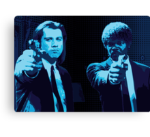 Vincent and Jules - Pulp Fiction (Variant 2 of 2) Canvas Print