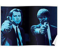 Vincent and Jules - Pulp Fiction (Variant 2 of 2) Poster