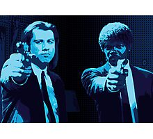 Vincent and Jules - Pulp Fiction (Variant 2 of 2) Photographic Print