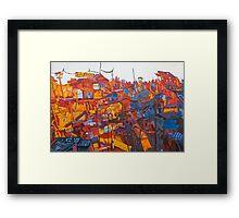 Megaton Framed Print