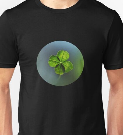 Lucky Four Leaf Clover Unisex T-Shirt