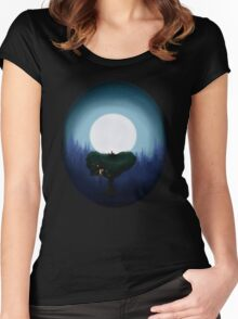 Dream of the stars Women's Fitted Scoop T-Shirt