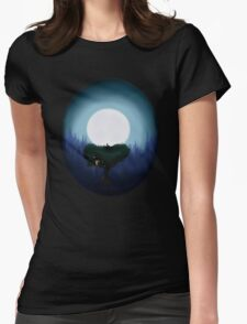 Dream of the stars Womens Fitted T-Shirt