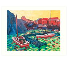 Port Oakes Art Print