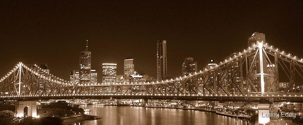City and Bridge by Lanny Edey