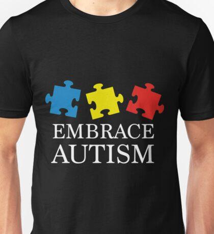 Embrace Autism- Autism Tee Shirts Unisex T-Shirt