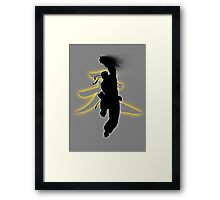 Punching the Dragon Framed Print