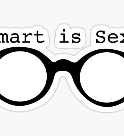 Smart Is Sexy Sticker