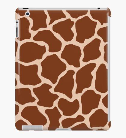 Desert Sand in Giraffe Pattern  iPad Case/Skin