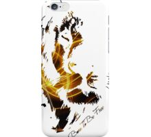 Born To Be Free (Sparkle) iPhone Case/Skin