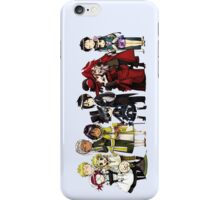 Black Butler Cast iPhone Case/Skin