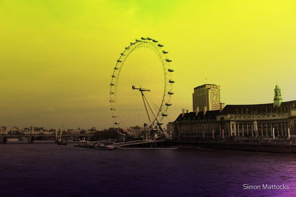 London Eye by Simon  Mattocks